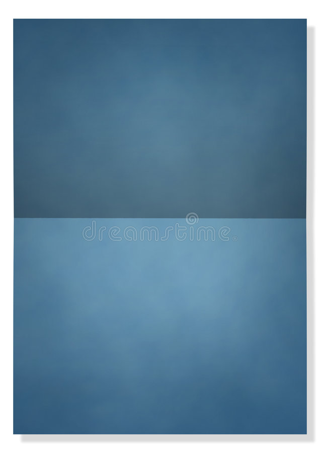 Blank note card royalty free illustration