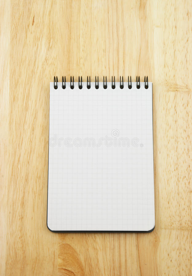 Download Blank note pad stock image. Image of wooden, detail, refresh - 12954457
