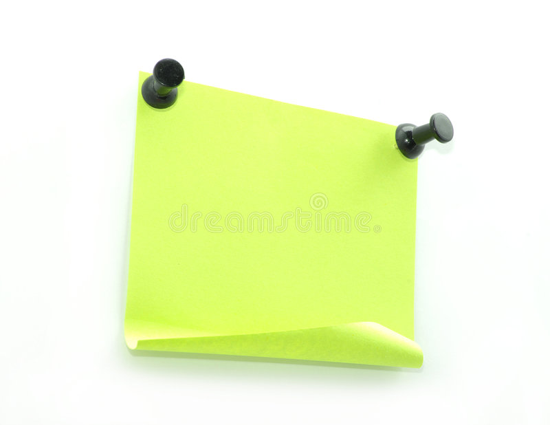Blank Note Pape Stock Photos
