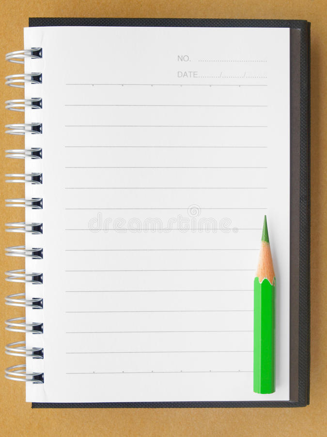 Download Blank notebook stock image. Image of ruled, copy, notepad - 24852977