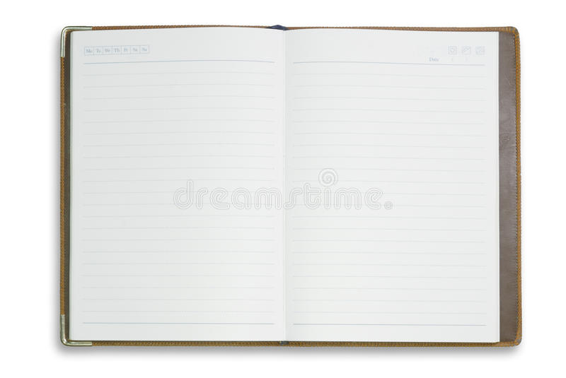 Download Blank Notebook For Background And Text Stock Image - Image: 24492563