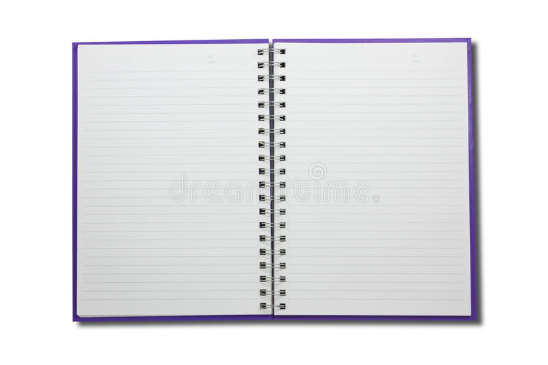 Download Blank NoteBook Open Two Face Stock Photo - Image of corner, curl: 39510742