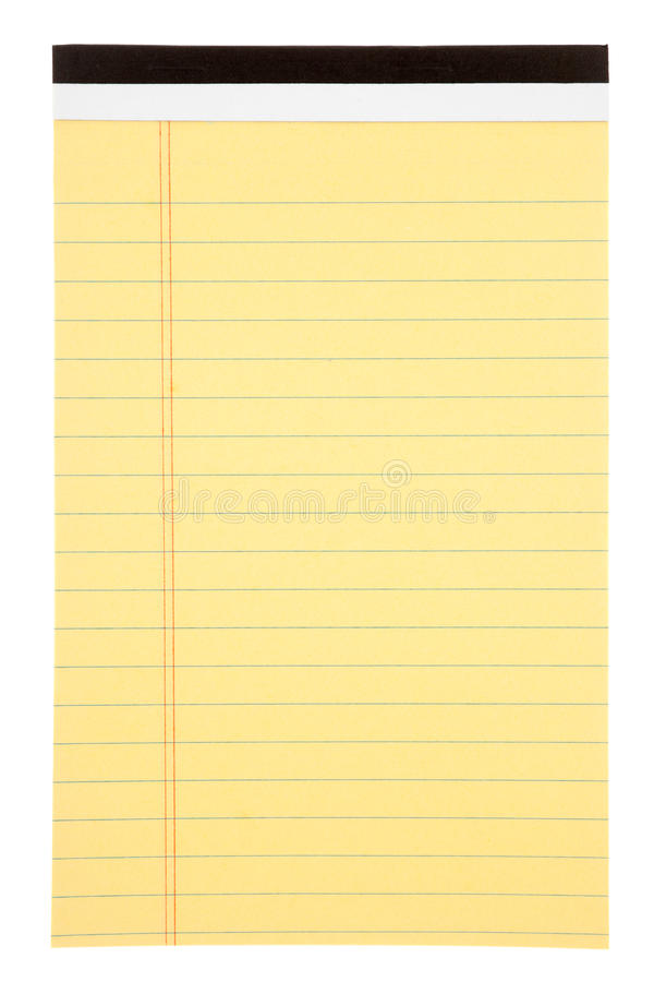 Blank notepad royalty free stock photography