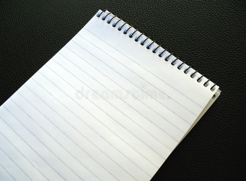 Download Blank Notepad. Stock Photo - Image: 502870
