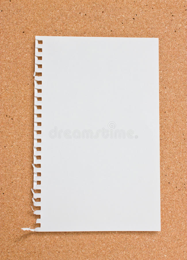 Blank Notepad. Royalty Free Stock Photography
