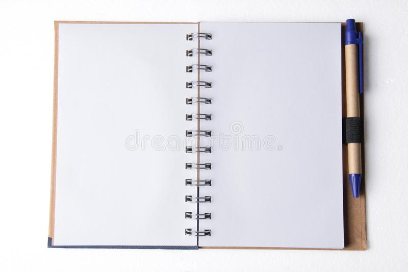 Download Blank notepad on white stock photo. Image of background - 22273738