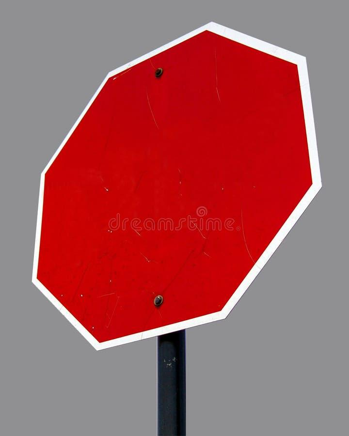 Free Blank Octagon Street Sign Royalty Free Stock Photos - 2499898
