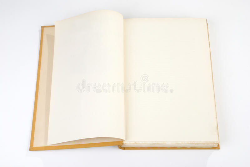 Download Blank Old Book Cover Yellow Stock Photo - Image: 12861234