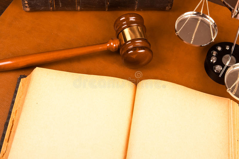 Download Blank Old Book And Legal System Stock Image - Image: 11445407
