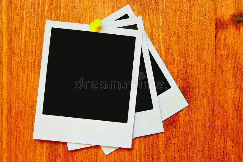 Blank old photo royalty free stock image