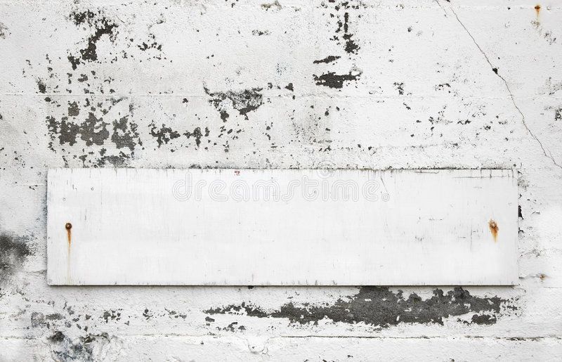 Download Blank old sign stock photo. Image of message, texture - 7718458