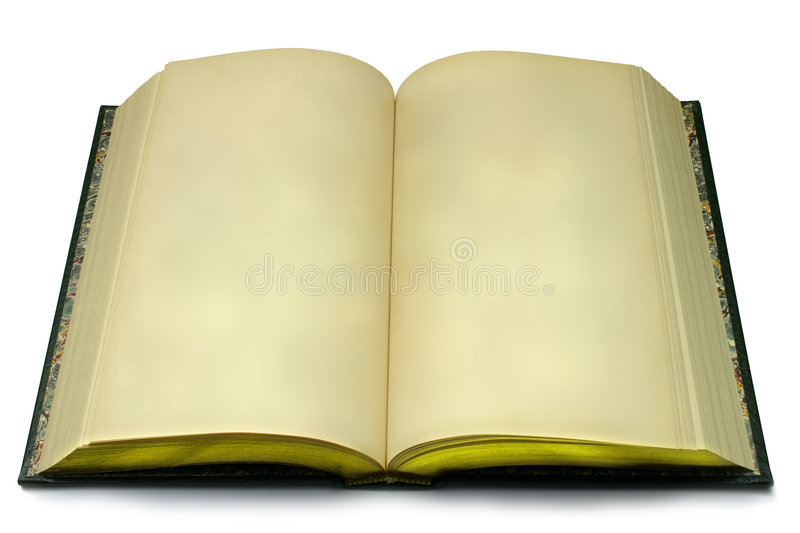 Download Blank Open Book stock photo. Image of blank, background - 1932494