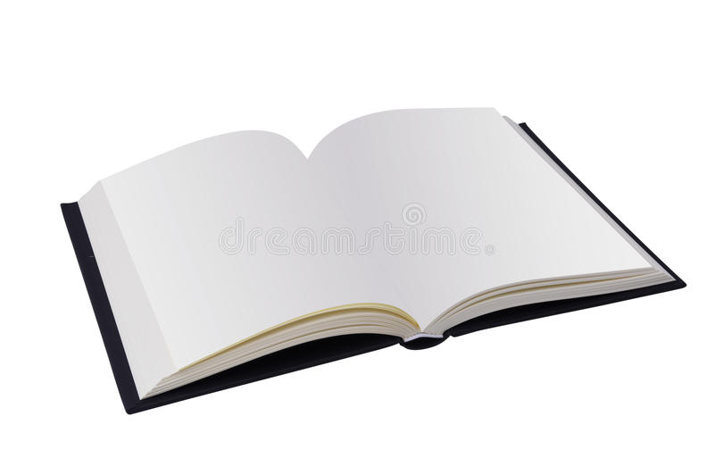 Blank open book - clipping path. Open Book with blank pages - clipping path (at ALL sizes stock images