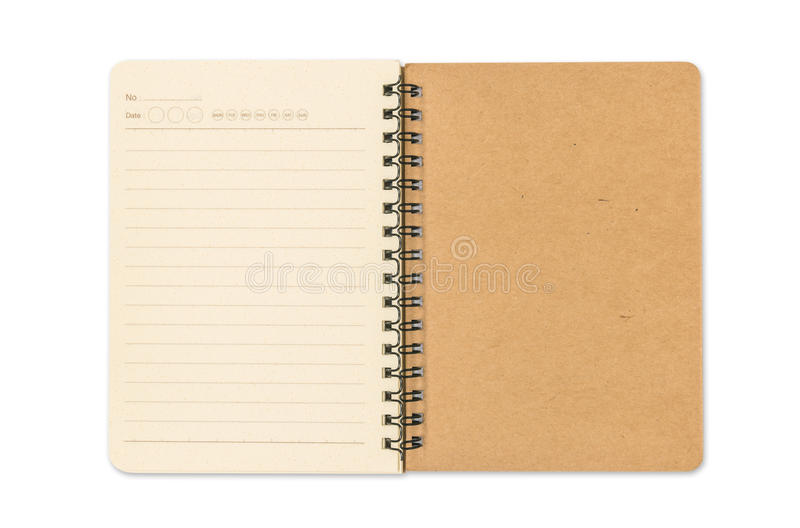 Download Blank Open Note Book Stock Image - Image: 26747311