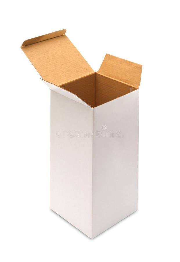 Download Blank opened cardboard box stock illustration. Illustration of paper - 39508129
