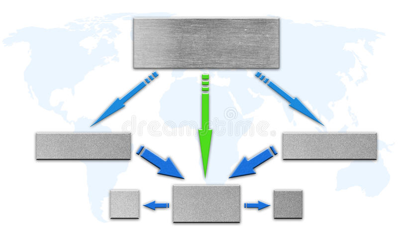 Blank Organizational Flow Chart Photo Image 20470400 – Blank Flow Chart