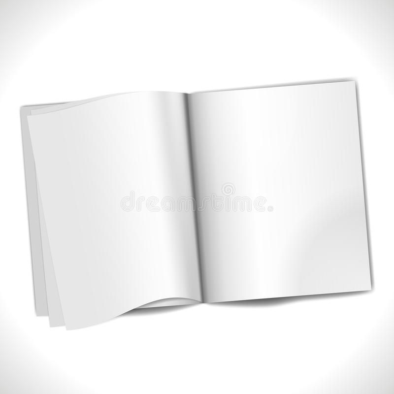 Blank Page Stock Image