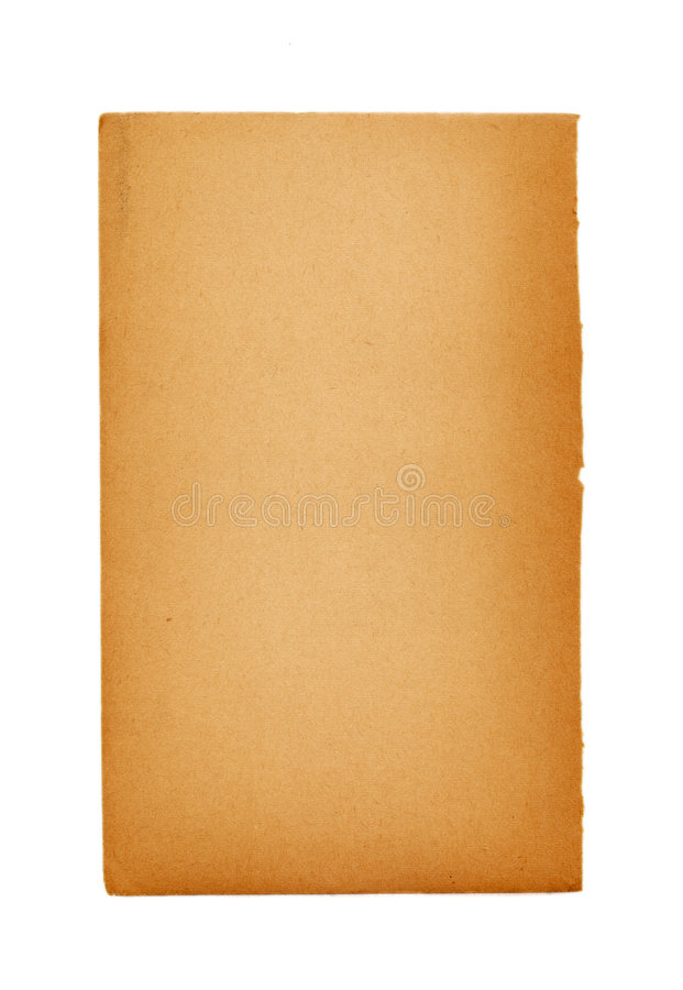 Blank Page Of An Ancient Book Stock Photos