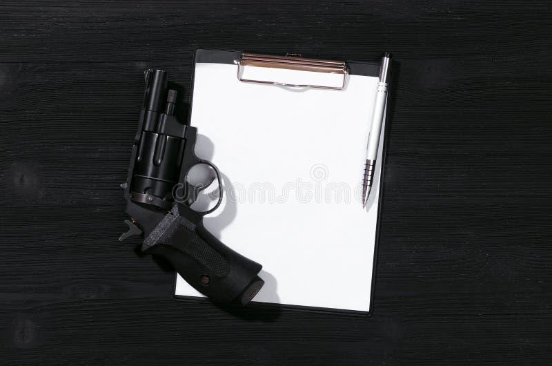 Handgun. royalty free stock photography