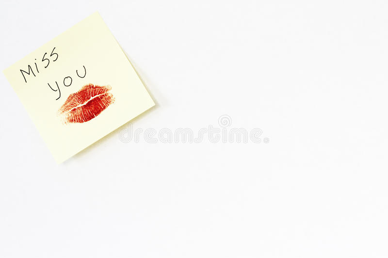 Download Blank Page With Love Message Stock Photo - Image: 17078210