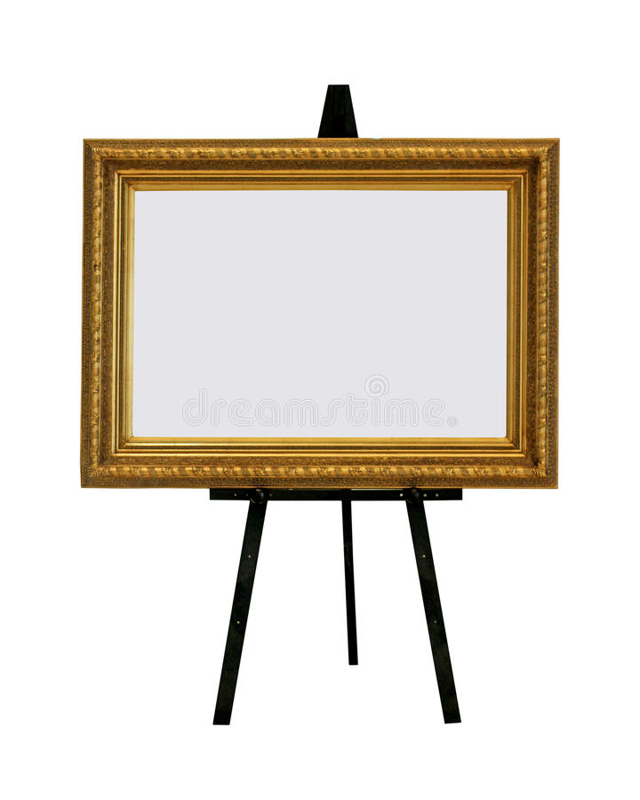 Blank painting stock photography