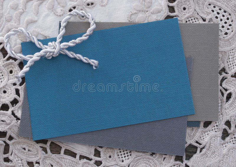 Blank paper note stock photo