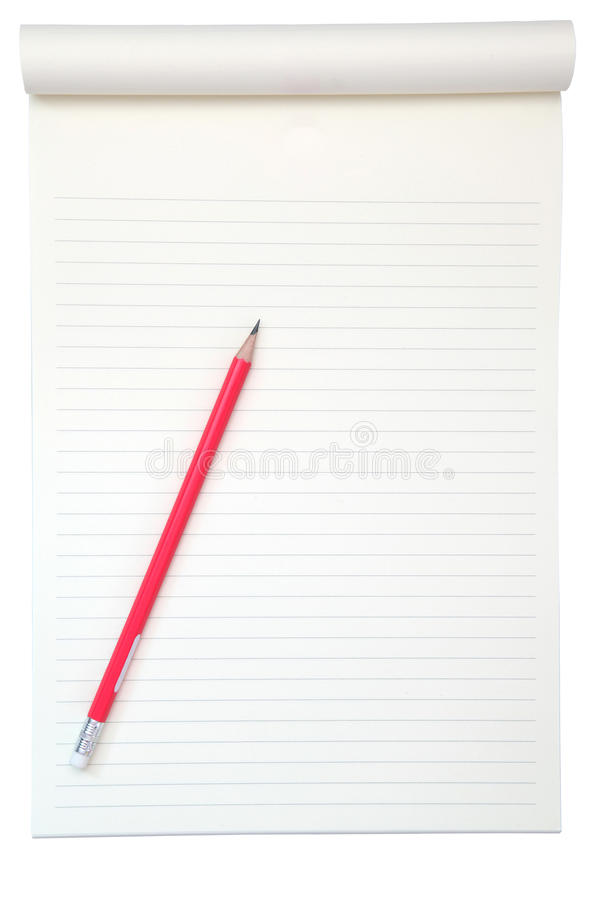 Download Blank paper with pencil stock photo. Image of business - 18552360