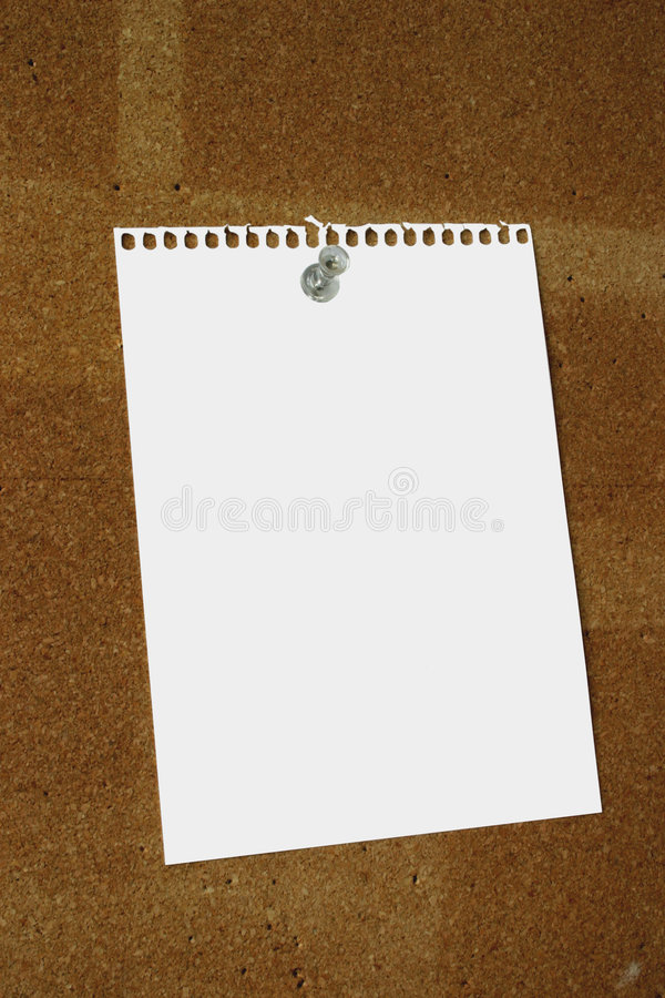 Free Blank Paper Sheet Royalty Free Stock Images - 504519