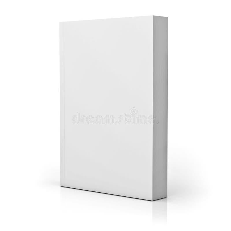 Blank paperback book stock illustration