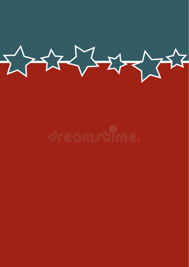 Download Blank Patriotic background stock vector. Illustration of american - 13624293