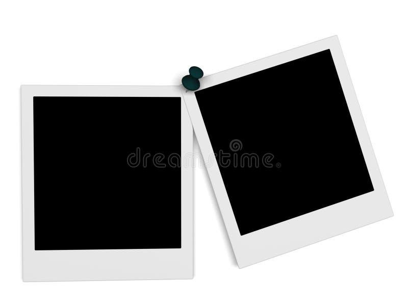 Blank photo stock illustration