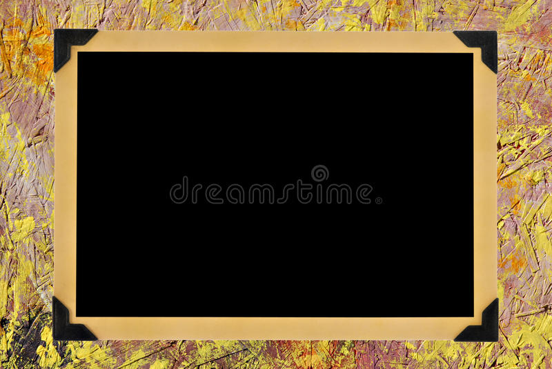 Download Blank Photo stock illustration. Image of album, artistic - 9983400