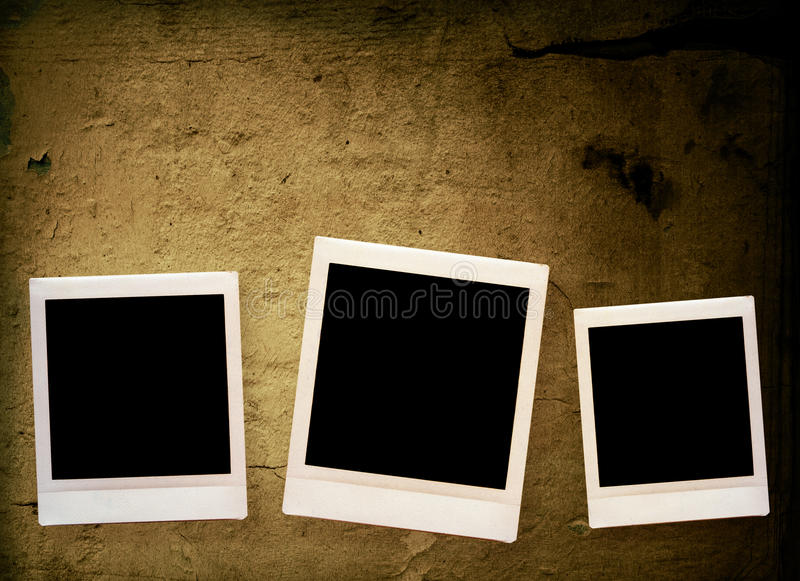 Download Blank photo frame stock illustration. Illustration of damaged - 17334325
