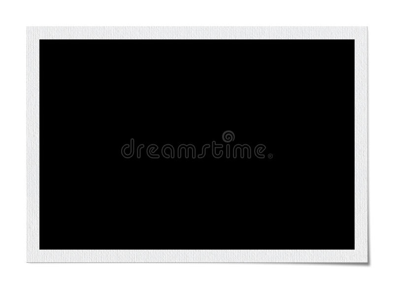 Blank Photo Frame royalty free stock images