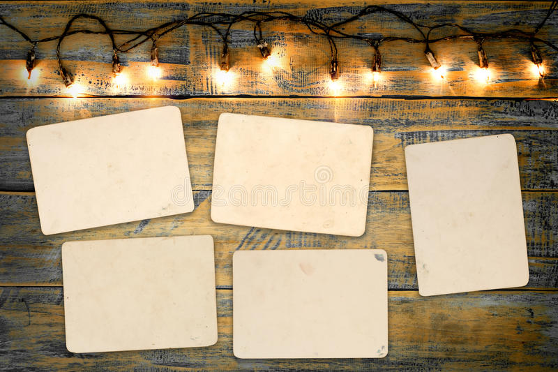 Blank photo frame album royalty free stock photos