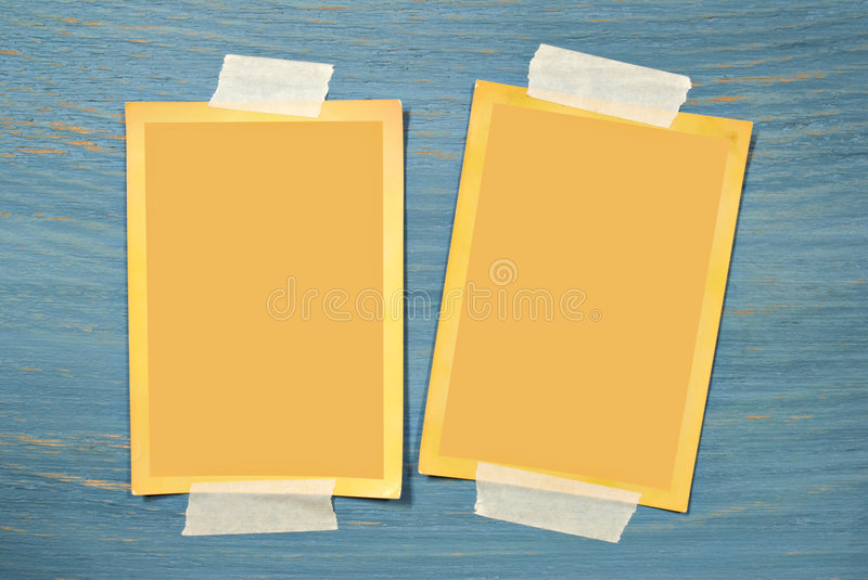 Download Blank Photos stock illustration. Image of background, border - 7591952