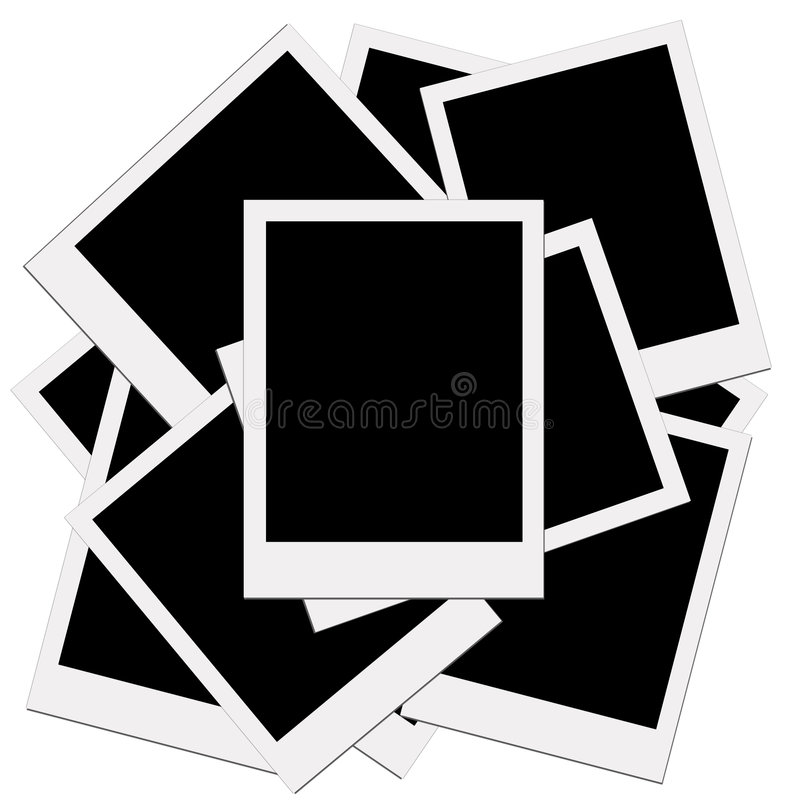 Blank of picture stock illustration