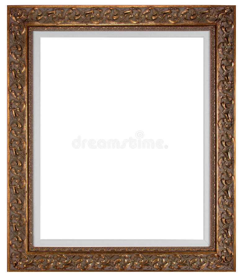 Blank picture frame stock image. Image of artwork, gilded - 968211