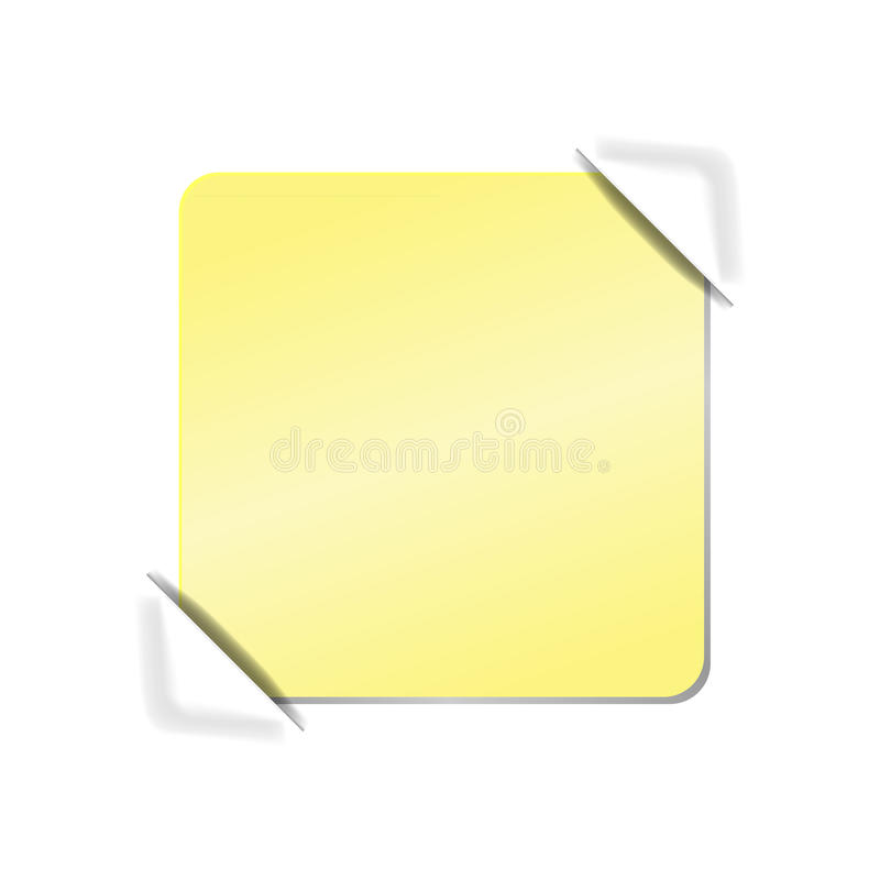 Blank Piece Of Paper Stock Photo