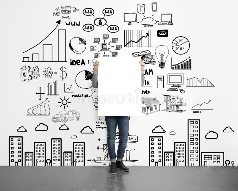 Download Blank placard stock photo. Image of apartament, development - 36294960