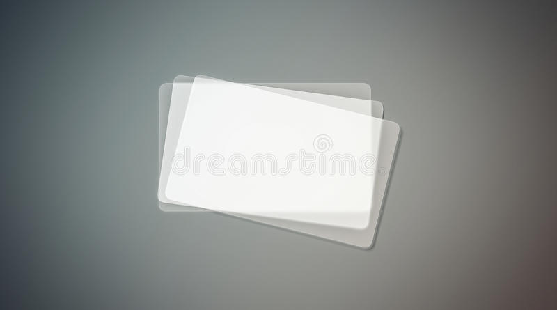 Blank plastic transparent business cards stack mock up stock image download blank plastic transparent business cards stack mock up stock image image of display reheart Images