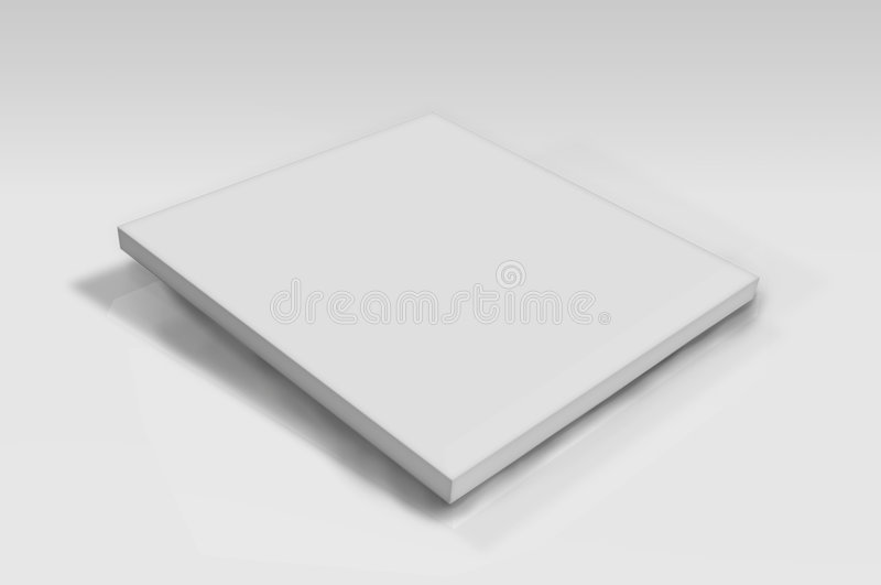 Blank plate vector illustration