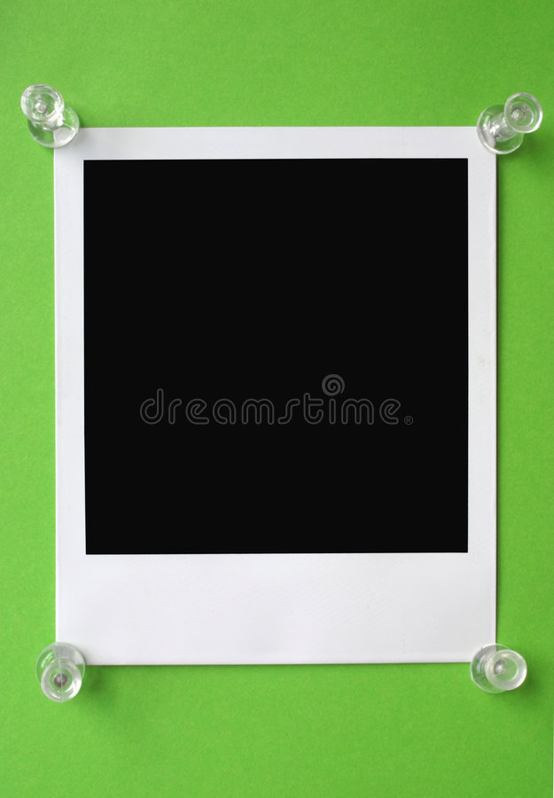 Blank Polaroid Stock Images