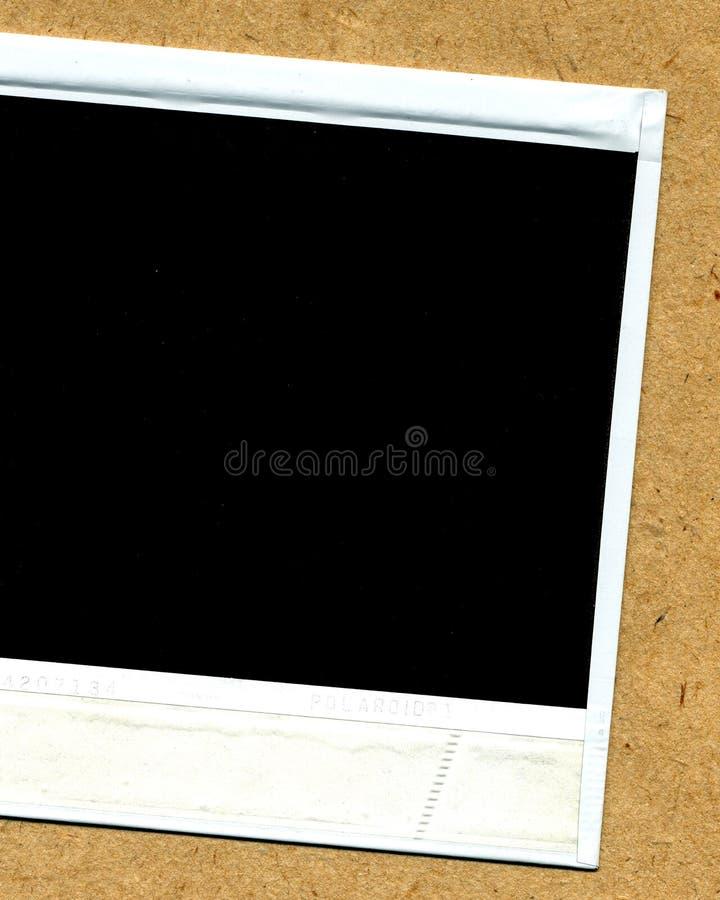 blank polaroid arkivfoto