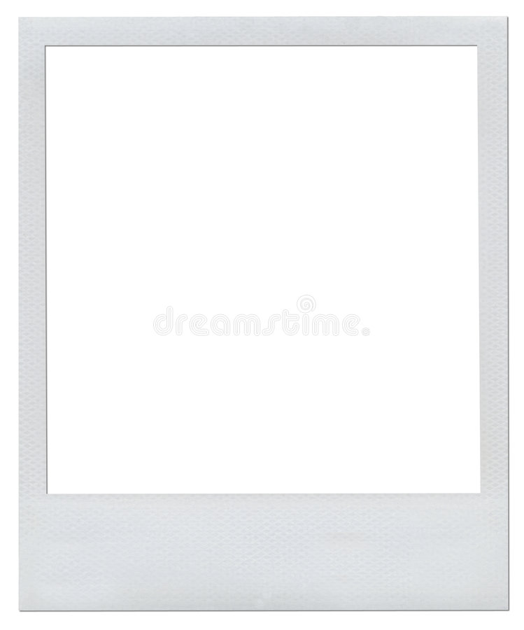 Download Blank Polaroid frame stock illustration. Image of camera - 2021046