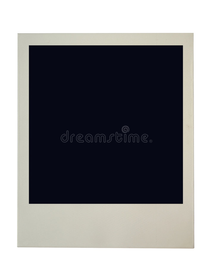 Blank photo frame frame stock photo