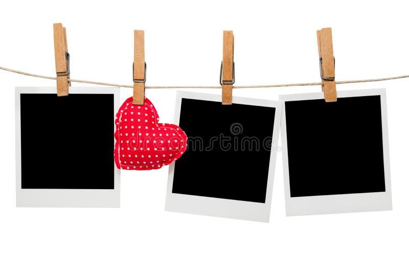Download Blank Polaroid Photo Frames Stock Photo - Image: 28135684