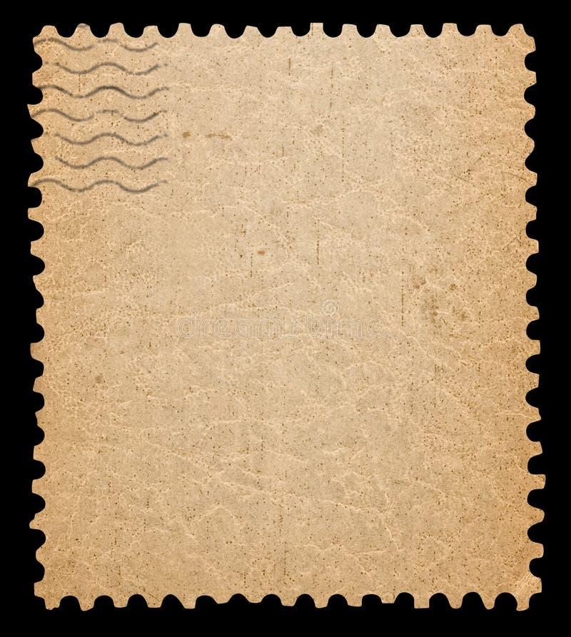 Blank portostämpel. royaltyfria bilder