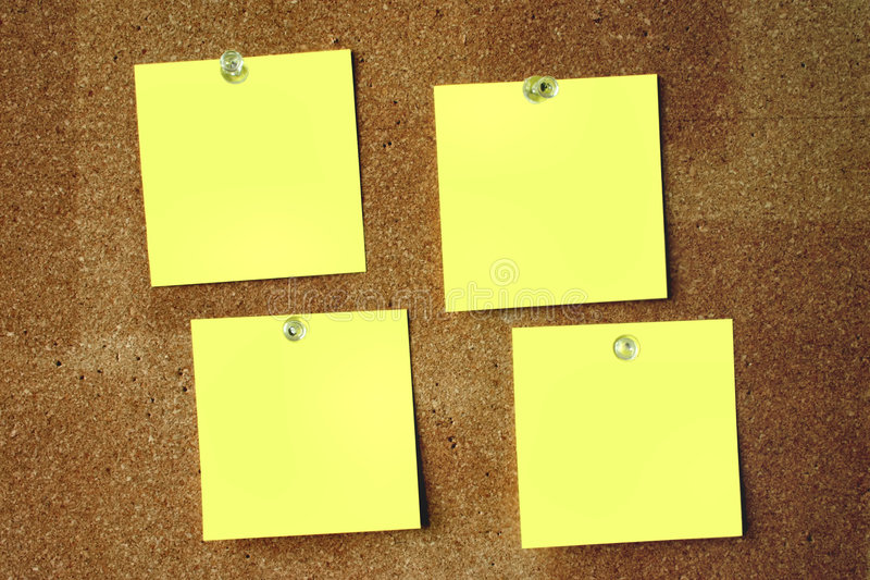 Download Blank post-its #2 stock image. Image of brink, border, issue - 295625