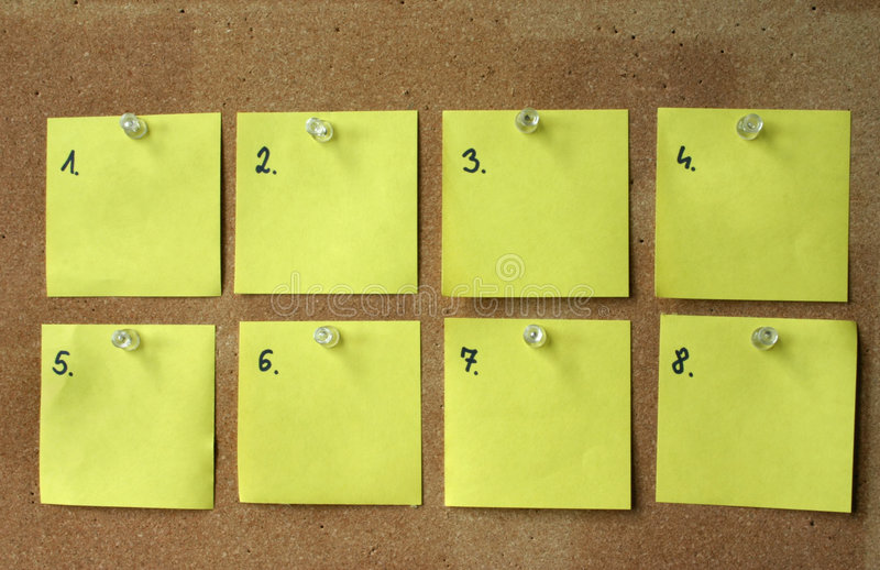 Download Blank Post-its Royalty Free Stock Photos - Image: 659258